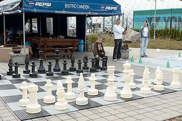 Plastové výrobky - obří šachy
