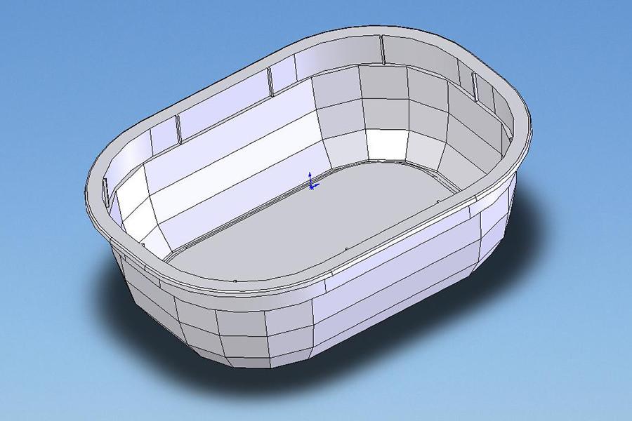 Design výrobků - vanička
